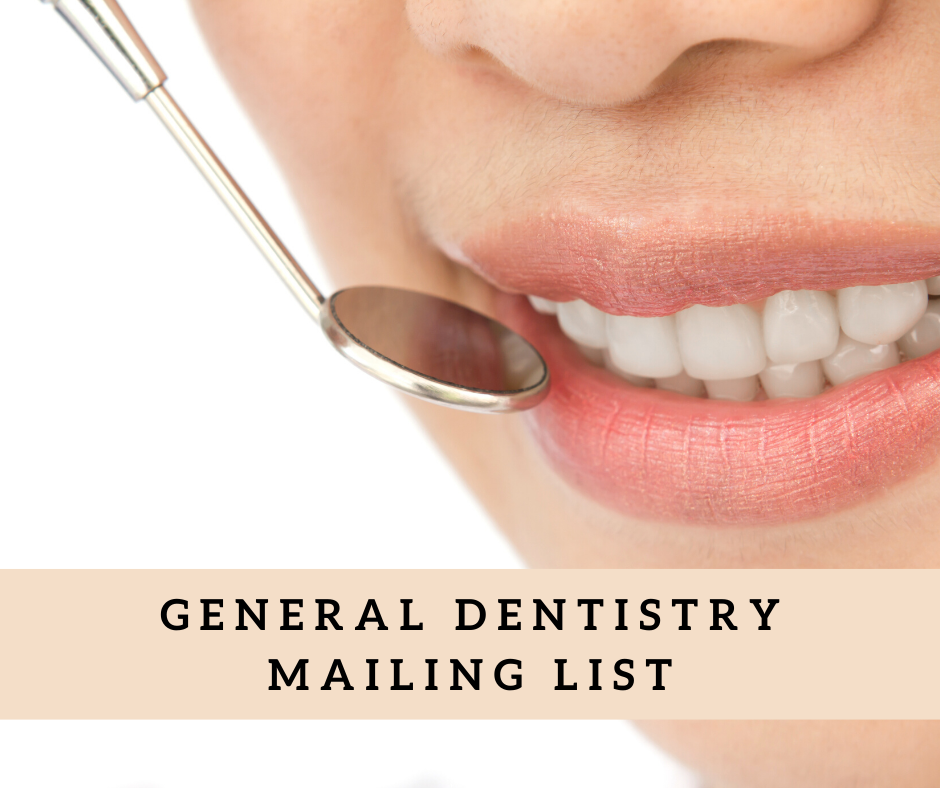 General Dentistry Mailing List | General Dentistry Email List in USA
